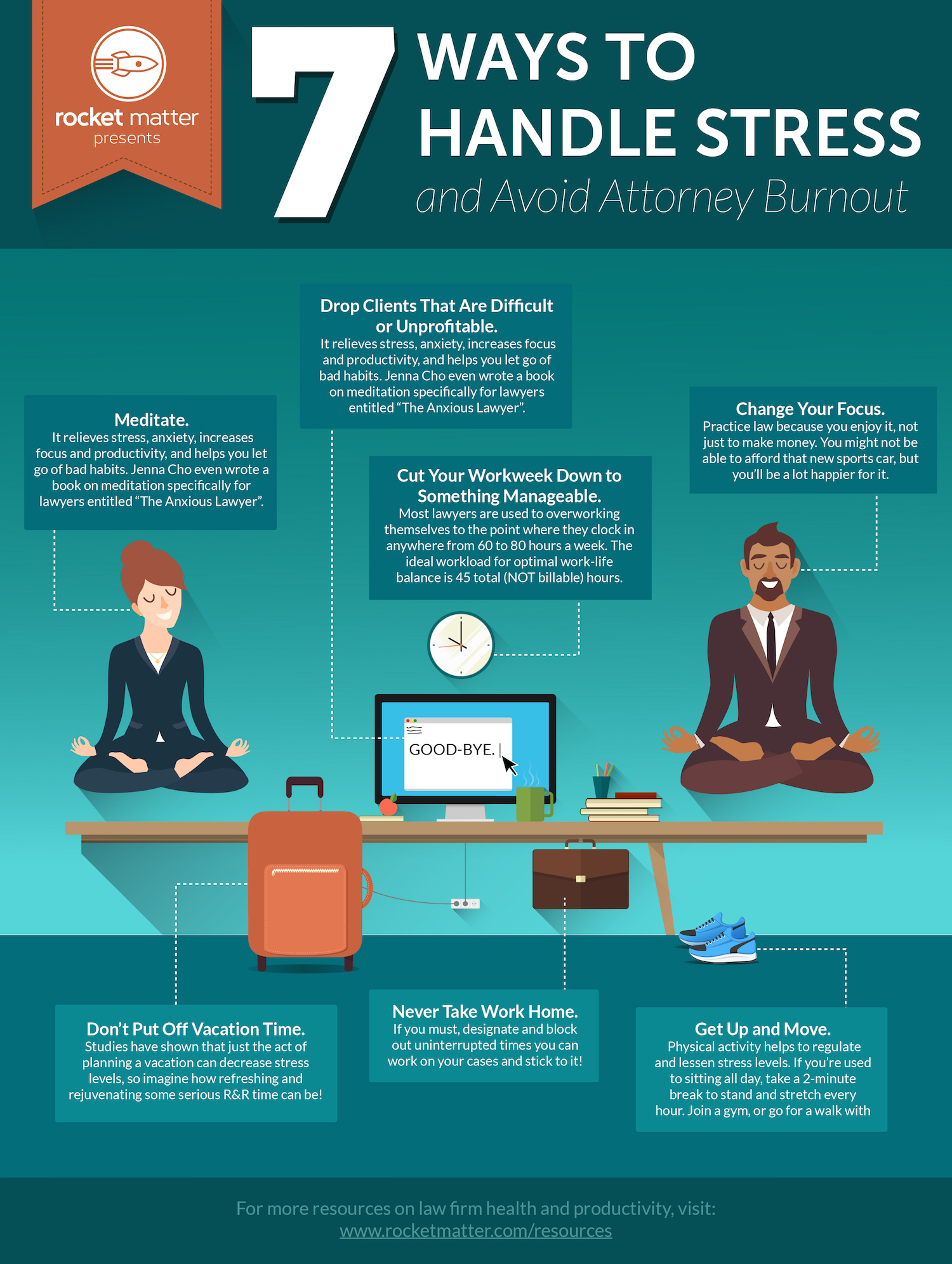 How an Attorney can Handle Too Much Stress – MASTERING THE LAW COURSE